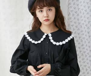 blouse, retro, and cute image