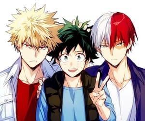 anime, boku no hero academia, and todoroki image