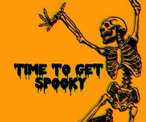 background, esqueleto, and Halloween image