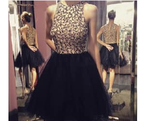 black prom dresses and short homecoming dresses image