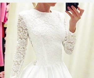 short prom dress, cute prom dress, and white homecoming dress image