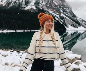 winter, fashion, and girl image