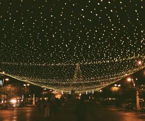 light, night, and christmas image