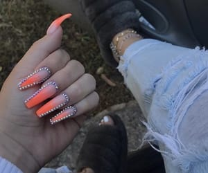 nails, pretty, and studs image