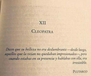 book, frases, and cleopatra image