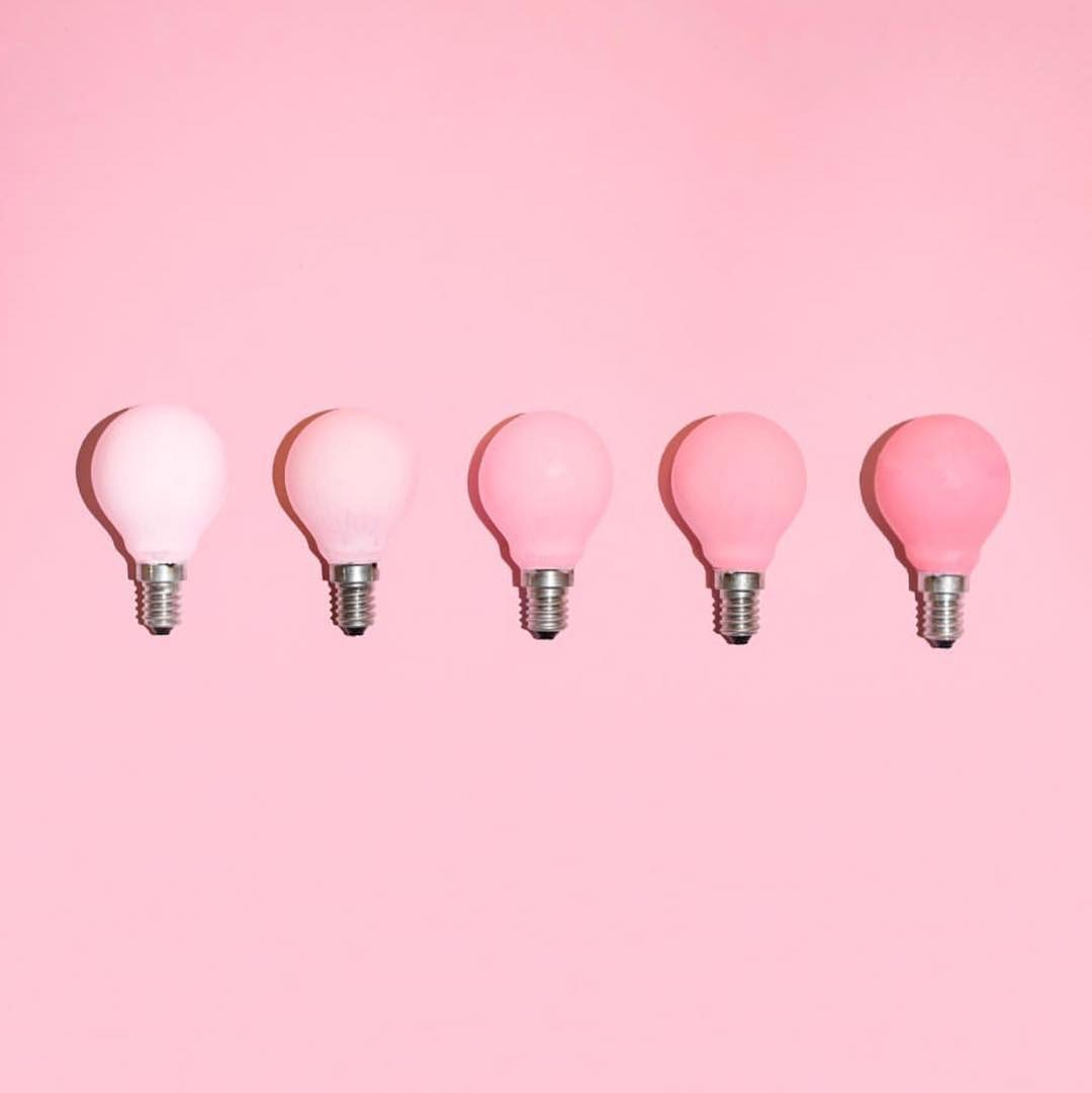 Pink Colored Light Bulbs Discovered By Rebecca Orr