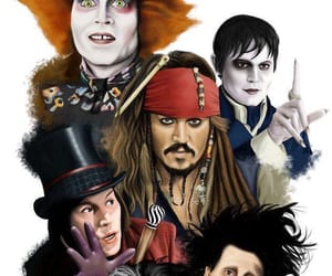 jack sparrow, johnny depp, and wallpaper image
