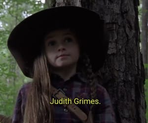 grimes, judith, and series image