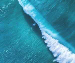 ocean, blue, and photography image