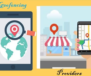 smartphone geofencing, geo fence advertising, and geofencing providers image