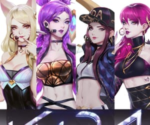 league of legends, video games cosplay, and kda akali cosplay image