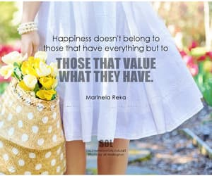 happiness, inspirational, and motivational quote image