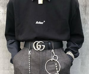 black, fashion, and gucci image