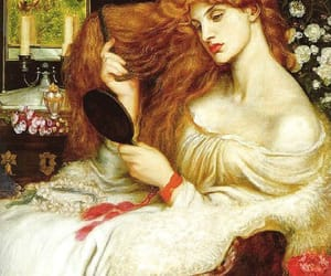painting, art, and Dante Gabriel Rossetti image