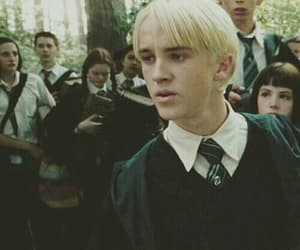 draco malfoy, harry potter, and book image