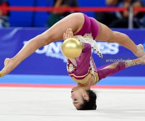 ball, rhythmic gymnastics, and agiurgiuculese image