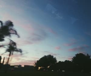 photography, purple clouds, and sunset image