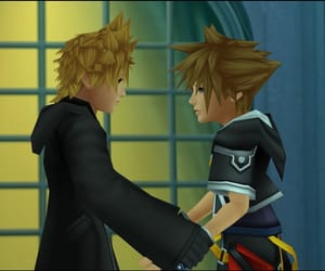 anime, roxas, and game image