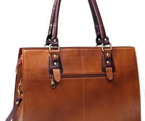 leather bags, leather handbags, and leather briefcase image