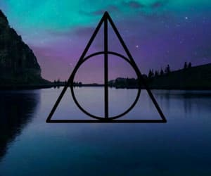 aesthetic and deathly hallows image