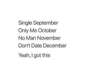 single, december, and me image