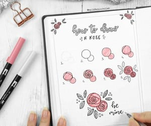 rose and notes image