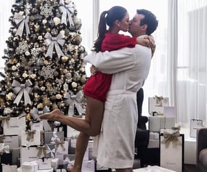 couple, love, and christmas image