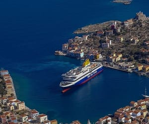 ferry, Greece, and pictures image