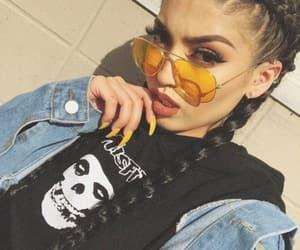 fashion, glasses, and braids image
