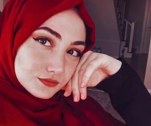 artistic, girls, and hijab image