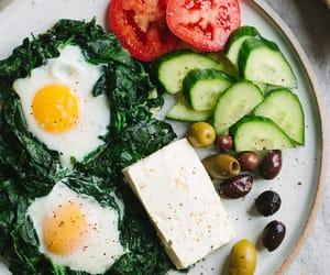 breakfast, cucumber, and oregano image
