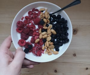 blueberry, breakfast, and inspiration image