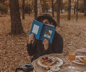 adventure, autumn, and book image