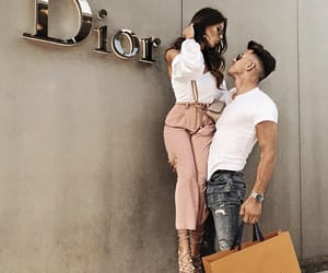 couples, dior, and luxury image
