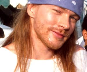 axl rose, bandana, and beautiful image
