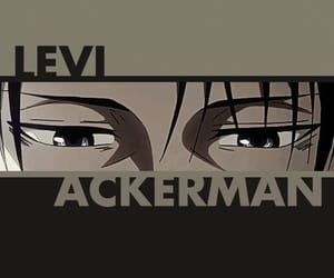 anime, background, and levi image