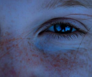eyes, freckles, and eye image