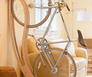beige, bike, and salone image