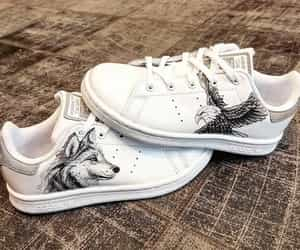 sneakers, styles, and loup image