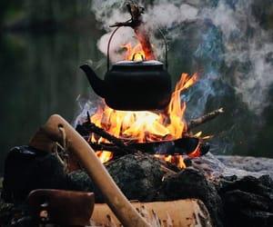 autumn, burn, and camp image
