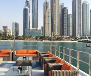 boat, Dubai, and luxury image