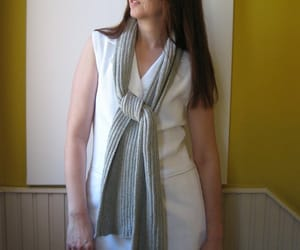 etsy, hand knitted, and knitted scarf image