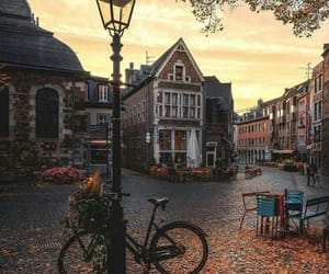travel, autumn, and city image