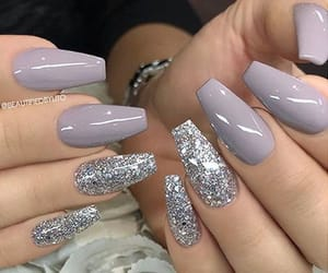 nails, beauty, and glam image
