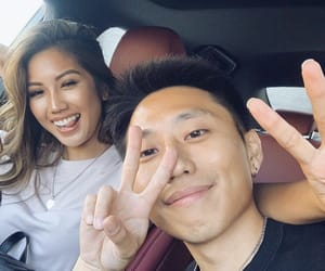 couple and asian couple image