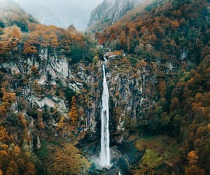 adventure, fall, and landscape image