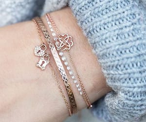 girl, jewelry, and love image