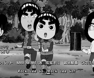 gif, rock lee, and neji hyuga image