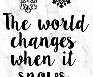 quote, snow, and winter image