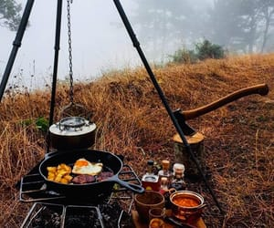 america, autumn, and camping image